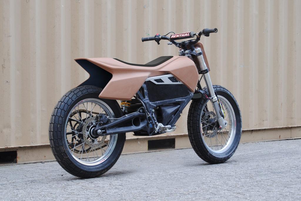Zero FX Flattracker clay rear